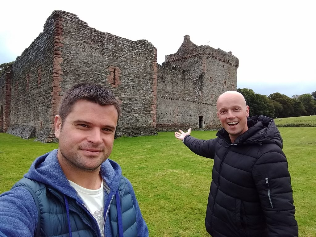 Coastal Road Trip, Skipness Castle, Julian, Jarno