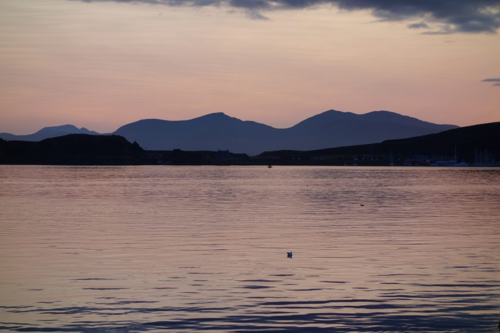 Coastal Road Trip, Oban, Sunset