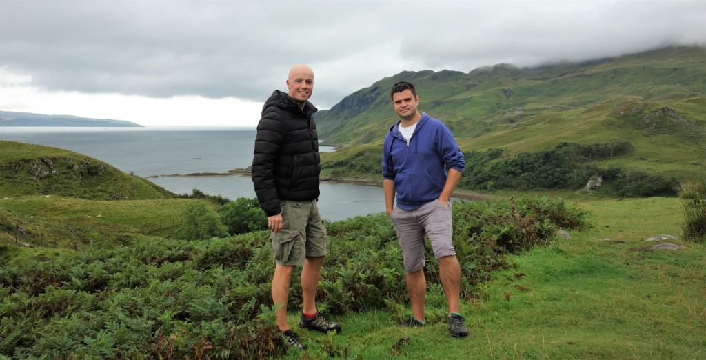Coastal Road Trip, Road to Ardnamurchan, Julian, Jarno