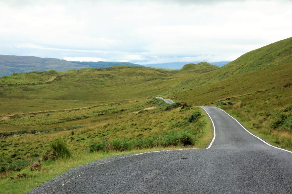 Coastal Road Trip, Ardslignish, Rolling roads