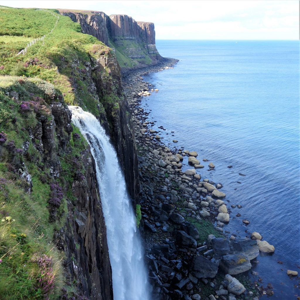 Coastal Road Trip, Kilt Rock, Waterfall