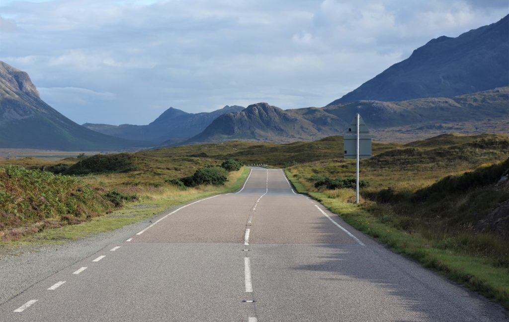 Coastal Road Trip, A87, The Cuillin Hills