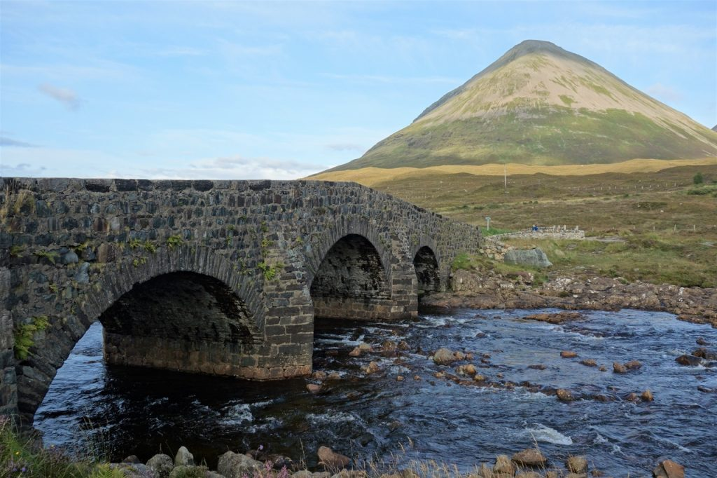 Coastal Road Trip, Sligachan Bridge, Glamaig