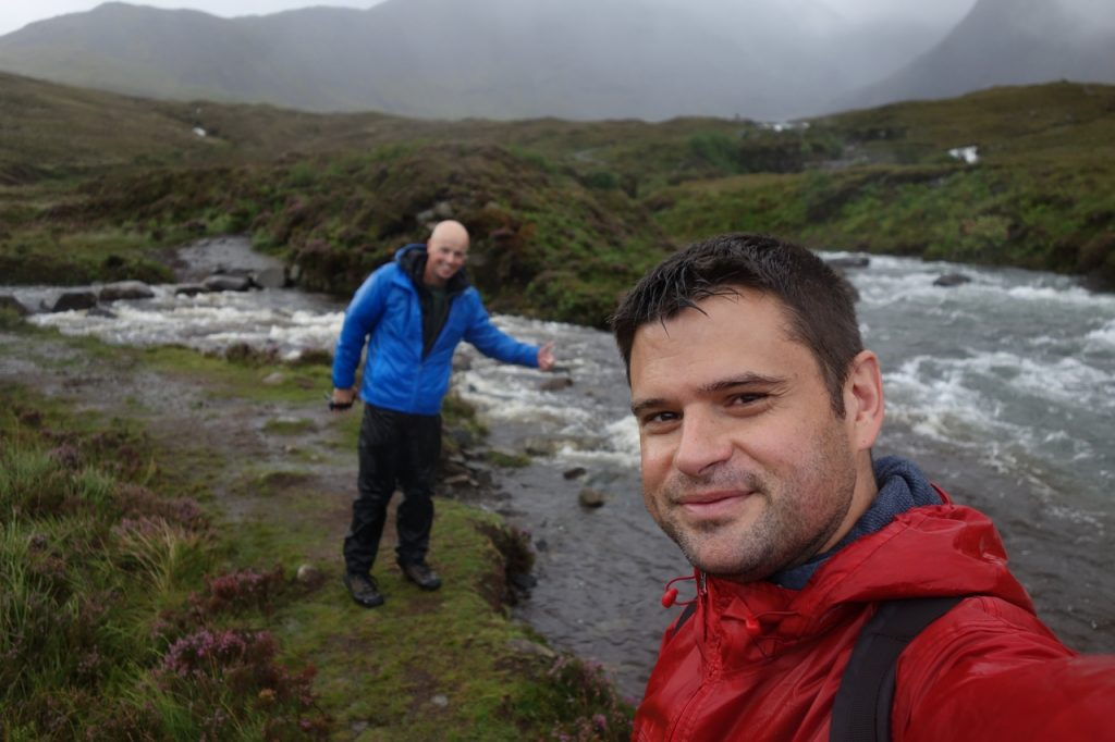 Coastal Road Trip, Glenbrittle, Fairy Pools, Waterfall, Julian, Jarno