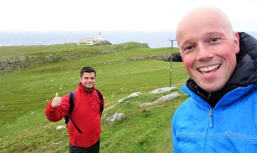 Coastal Road Trip, Neist Point Lighthouse, Julian, Jarno