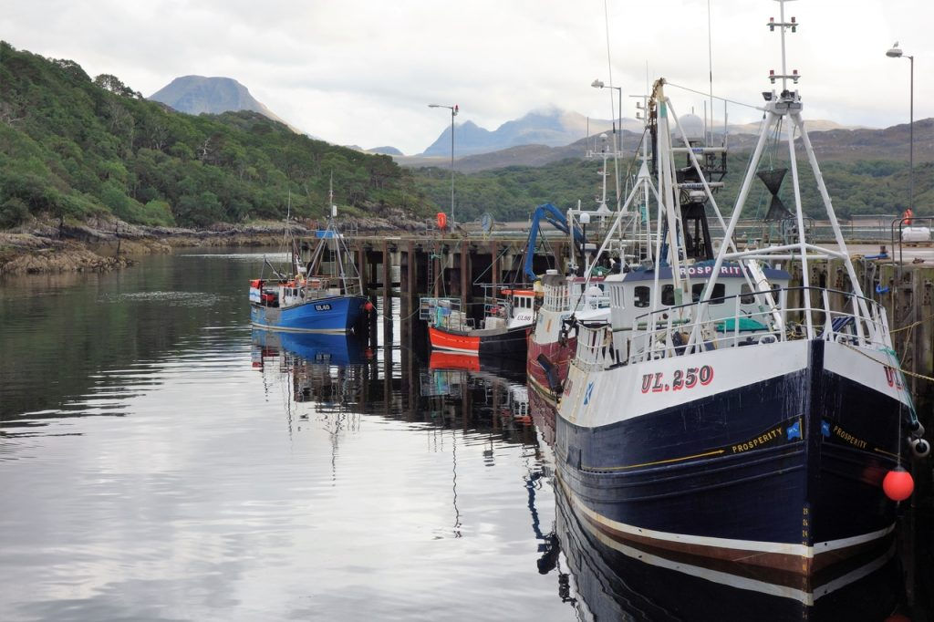 Coastal Road Trip, Gairloch, Harbour