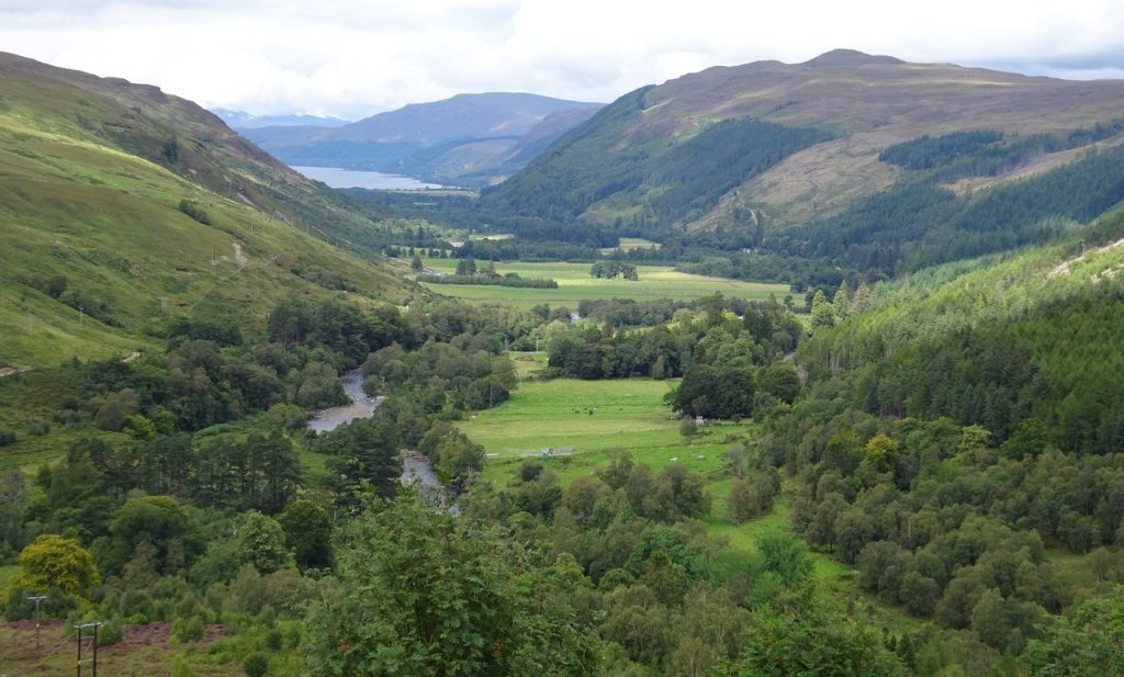 Coastal Road Trip, Corrieshalloch Gorge National Nature Reserve, National Trust for Scotland, View to Loch Broom