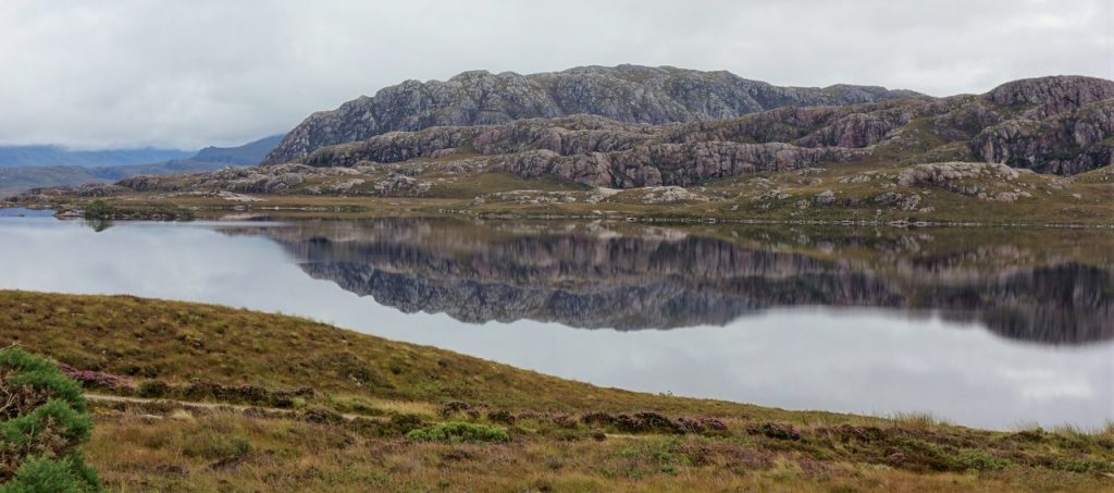 Coastal Road Trip, Loch Tollaidh, Reflections