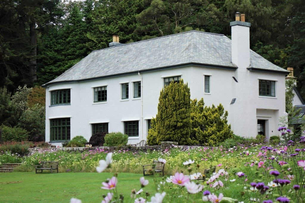 Coastal Road Trip, Inverewe Gardens, House, National Trust for Scotland