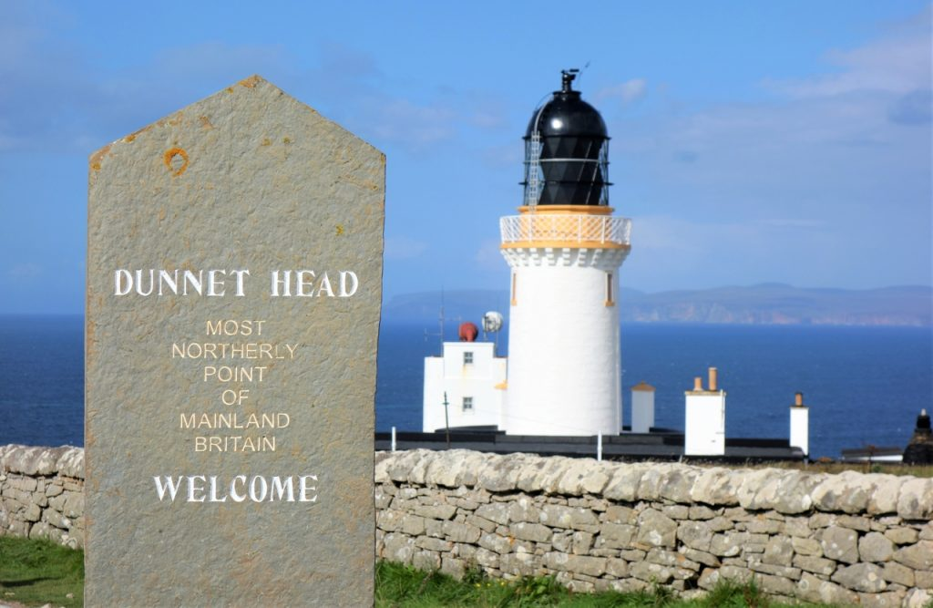 Coastal Road Trip, Dunnet Head, Lighthouse, Most northerly point of mainland Britain