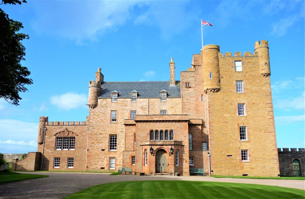 Coastal Road Trip, Castle of Mey, Queen Mother