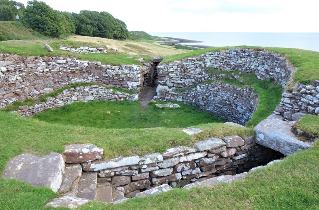 Coastal Road Trip, Carn Liath, Iron Age Broch, Settlement, A9