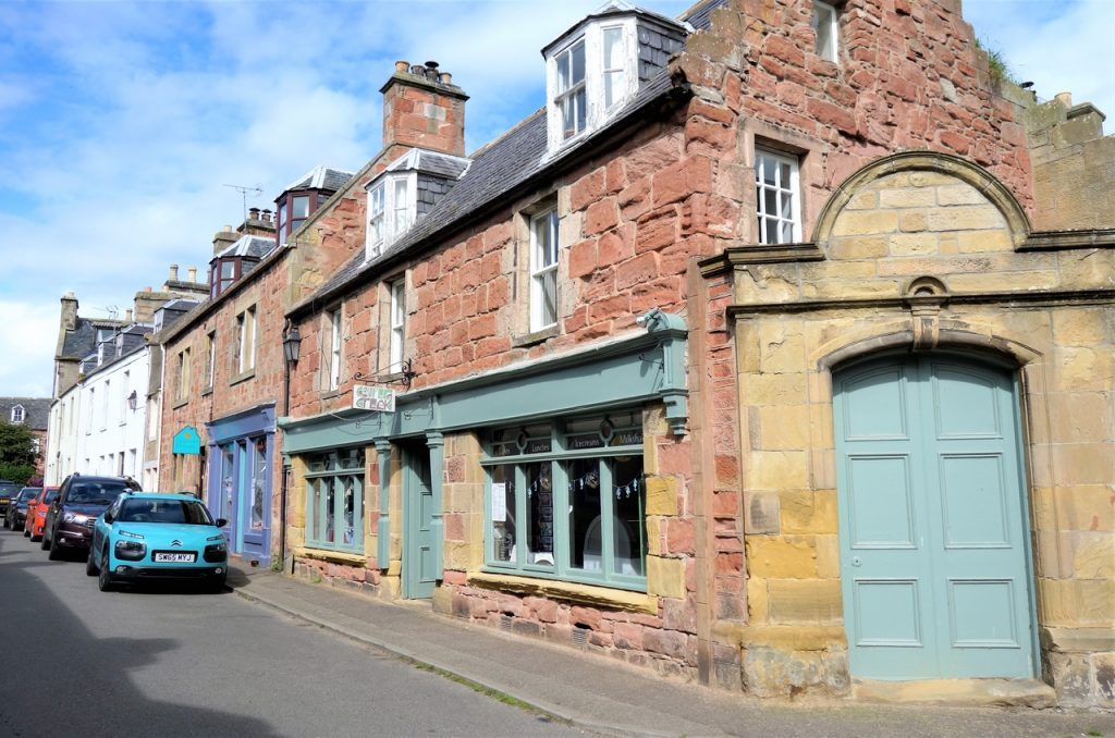 Coastal Road Trip, Cromarty, Street, Shop