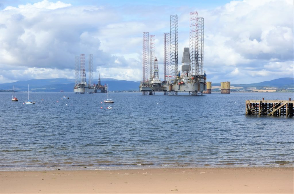 Coastal Road Trip, Cromarty, Oil Rigs