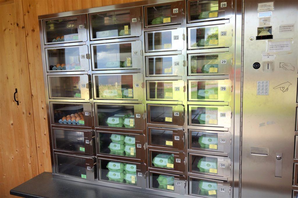 Coastal Road Trip, Cromarty, The Egg Box, Vending Machine