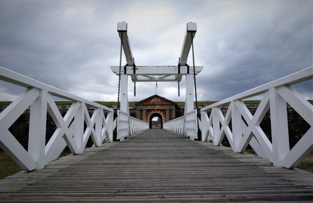 Coastal Road Trip, Fort George & The Highlanders' Museum, Bridge