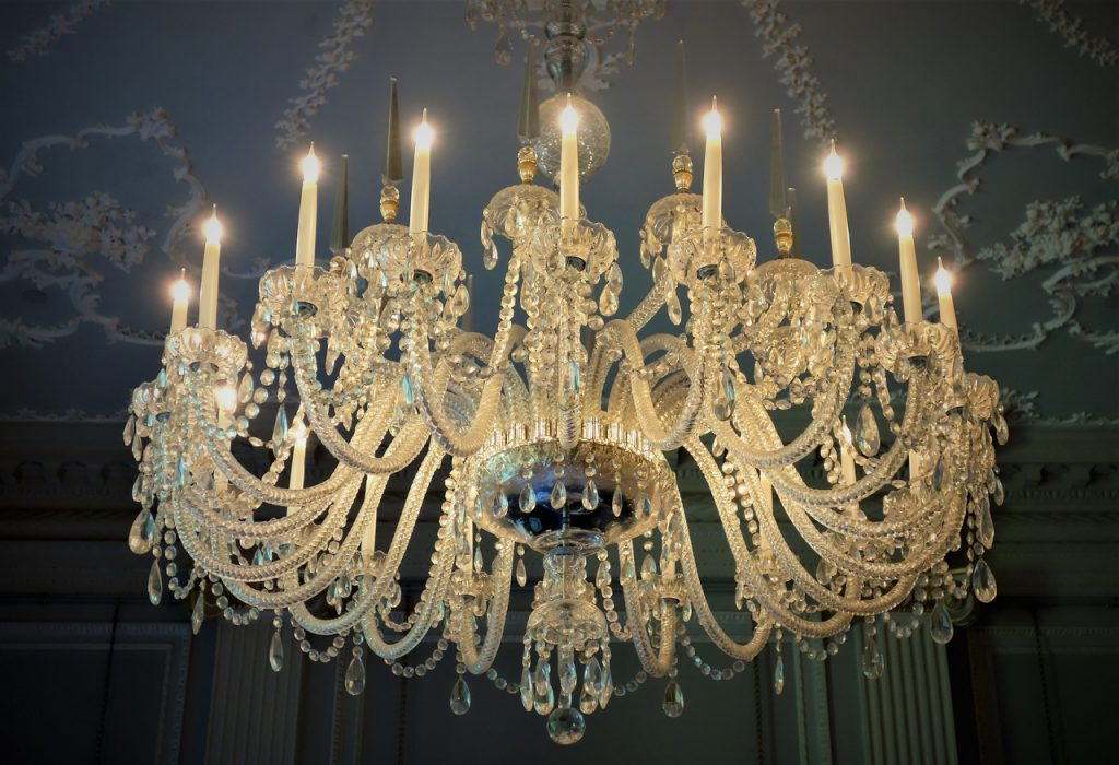 Coastal Road Trip, Banff, Duff House, Historic Scotland, Chandelier