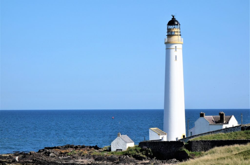 Coastal Road Trip, Montrose, Scurdie Ness, South Esk, Lighthouse