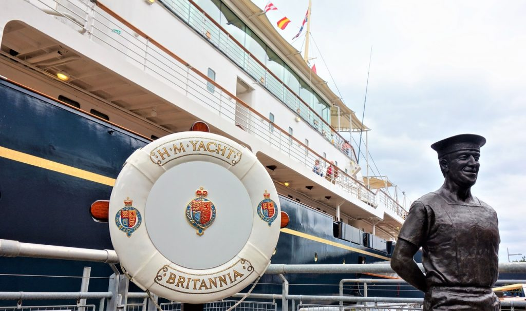 Coastal Road Trip, Royal Yacht Britannia