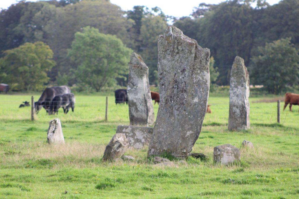 Coastal Road Trip, Kilmartin, Nether Largie Standing Stones