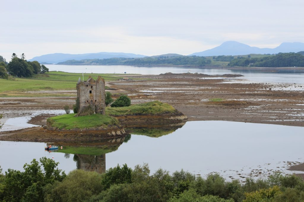 Coastal Road Trip, Castle Stalker
