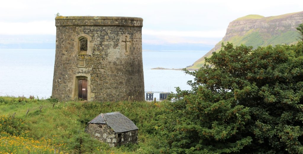Coastal Road Trip, Uig, Uig Tower, Captain Fraser's Folly