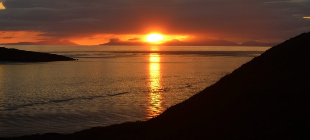 Coastal Road Trip, Gairloch, Loch Gairloch, Sunset
