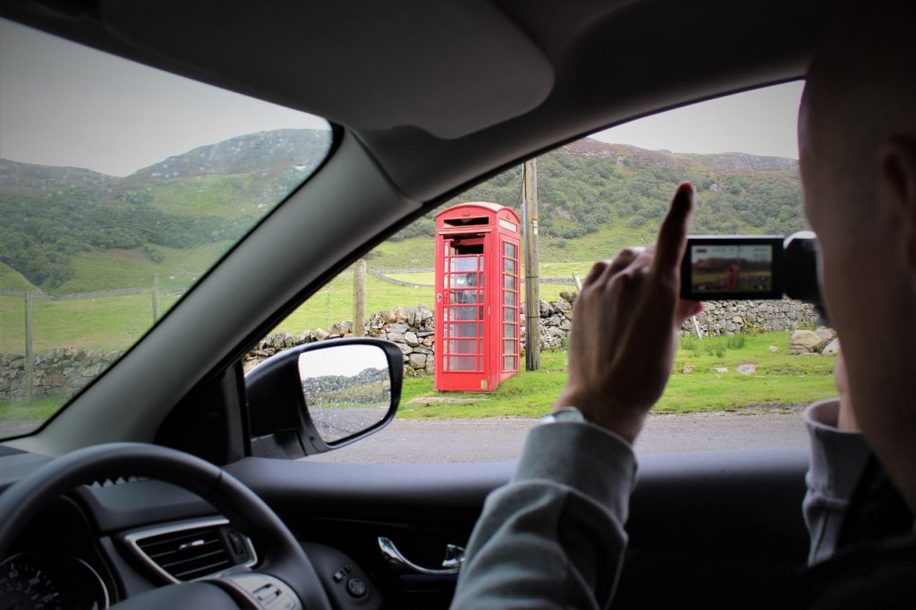 Coastal Road Trip, Loch Eriboll, Telephone box, Jarno