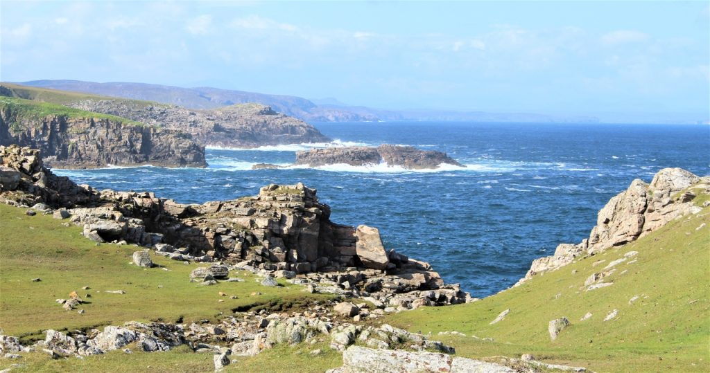 Coastal Road Trip, Strathy Point, Lighthouse, Rocks, Sea, Armadale Bay