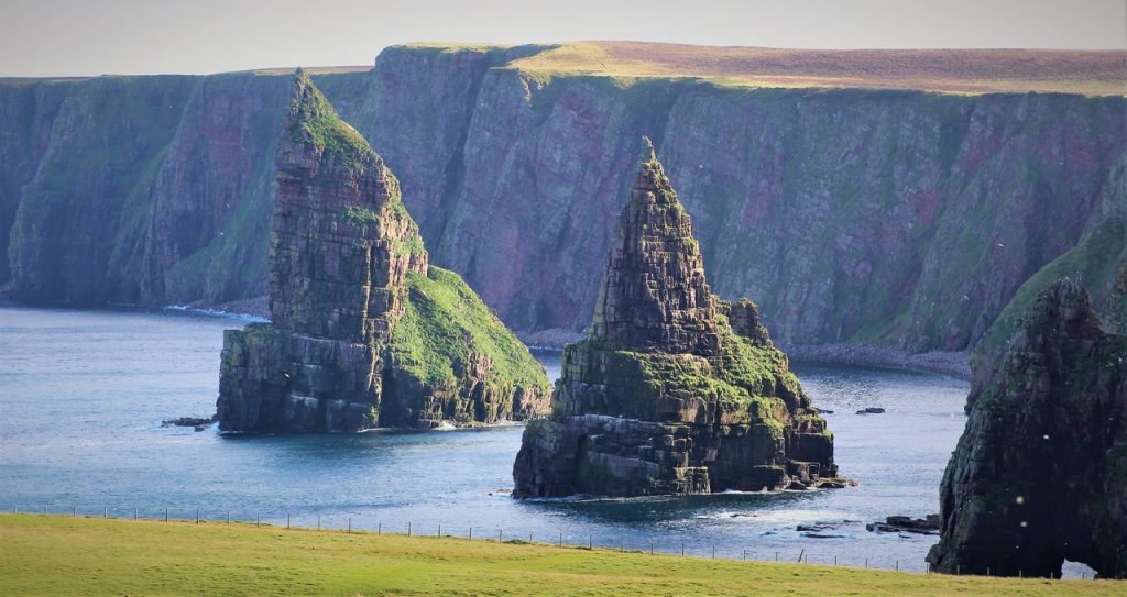 Coastal Road Trip, Duncansby Head, Stacks of Duncansby