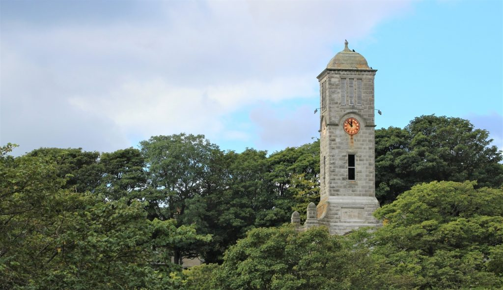 Coastal Road Trip, Helmsdale, Church Tower
