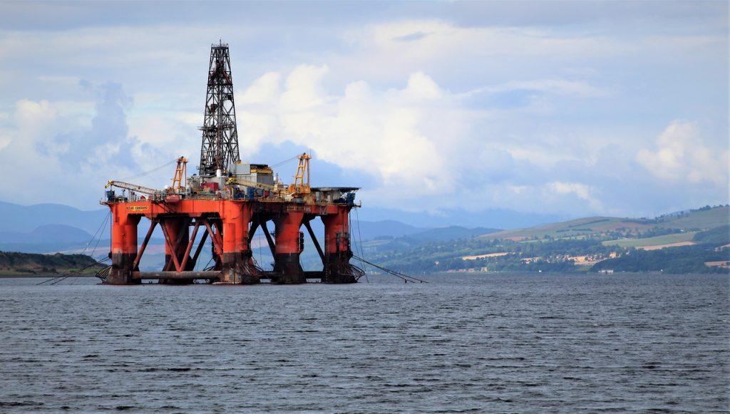 Coastal Road Trip, Cromarty Firth, Invergordon, Oil Rig