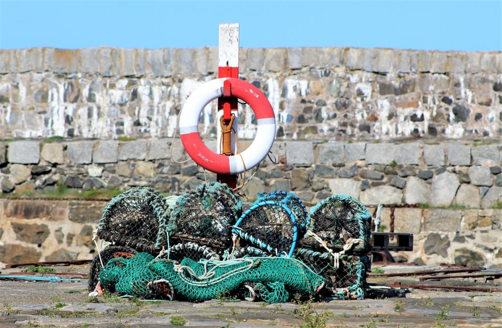 Coastal Road Trip, Portsoy, Harbour, Lifesaver