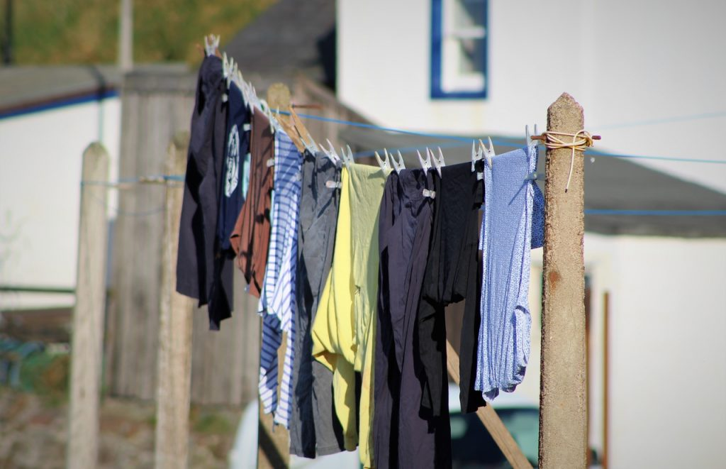 Coastal Road Trip, Pennan, Washing Line