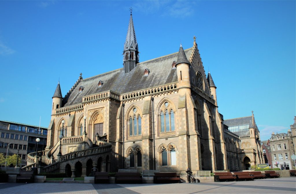 Coastal Road Trip, Dundee, The McManus Dundee's Art Gallery & Museum