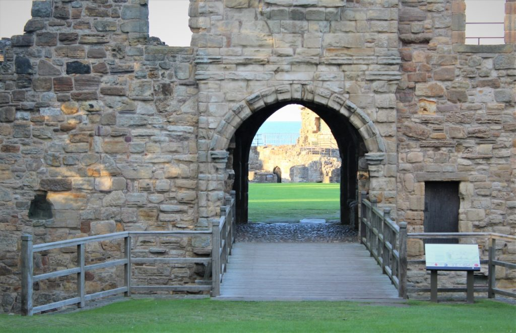 Coastal Road Trip, St Andrews, Castle, Entrance, Bridge