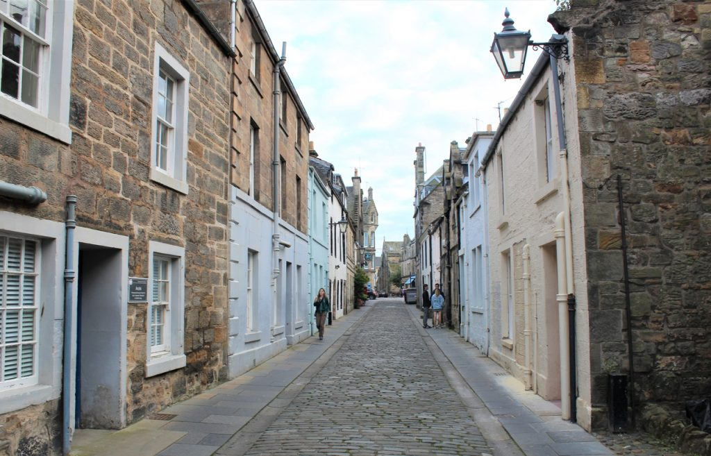 Coastal Road Trip, St Andrews, Cobbled Street
