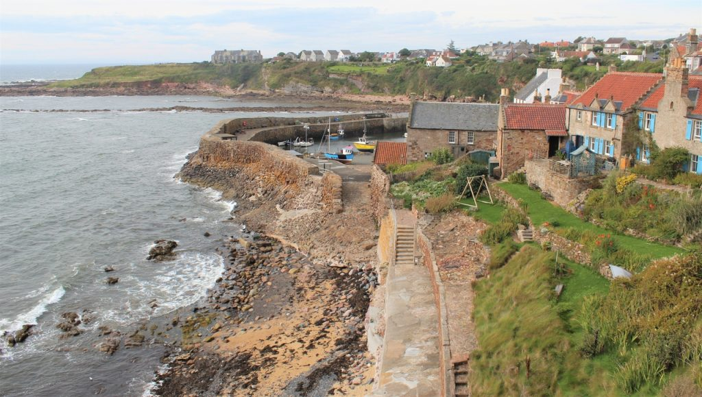 Coastal Road Trip, Crail, Harbour