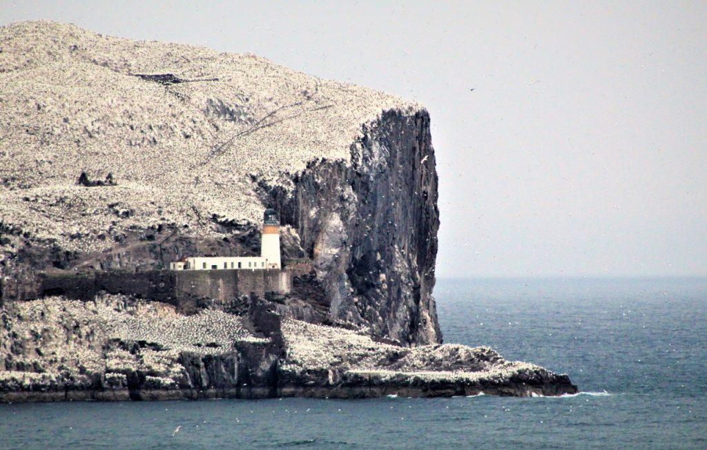 Coastal Road Trip, Bass Rock, Lighthouse
