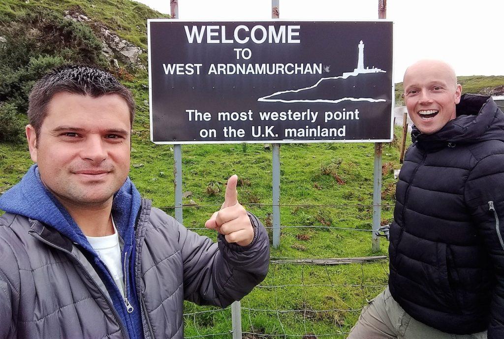Coastal Road Trip, Ardnamurchan, Julian, Jarno