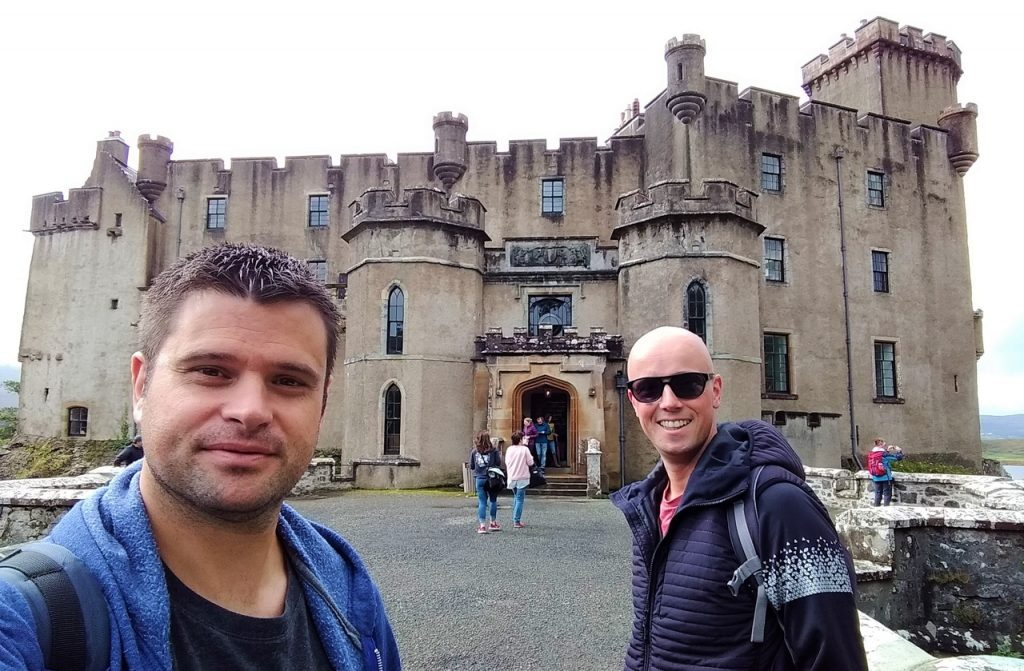 Coastal Road Trip, Dunvegan Castle, Julian, Jarno
