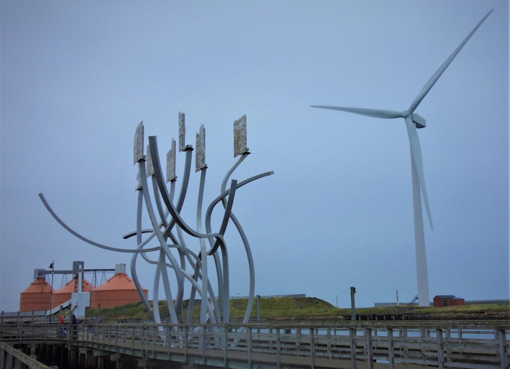 Coastal Road Trip, Blyth, Art, Wind Turbine, Industry