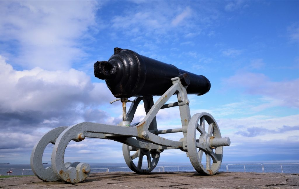 Coastal Road Trip, Hartlepool, Headland, Heugh Gun Battery, Cannon