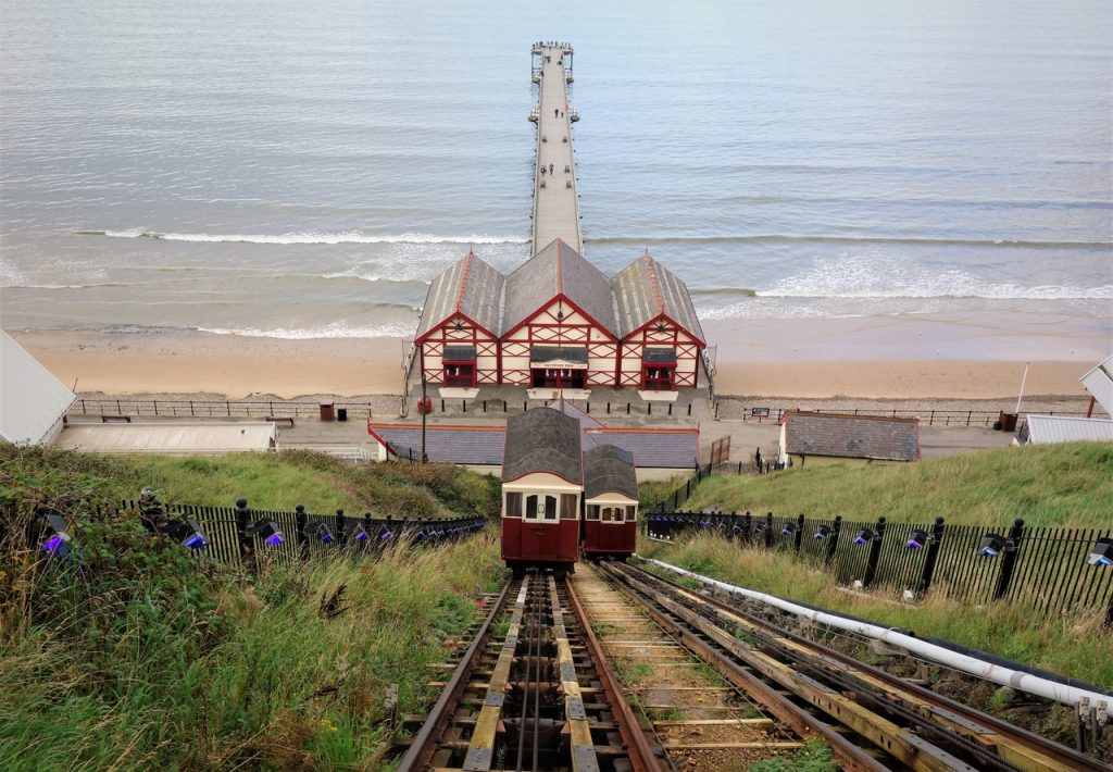 Coastal Road Trip, Saltburn-by-the-Sea, Cliff Tramway, Pier
