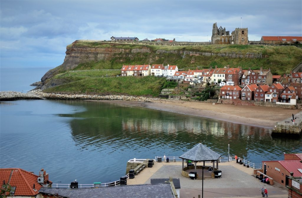 Coastal Road Trip, Whitby, Abbey, Harbour, Bandstand, River Esk