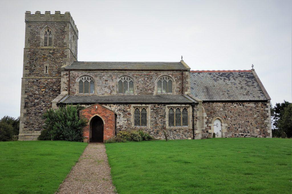 Coastal Road Trip, Tunstall, All Saints Parish Church