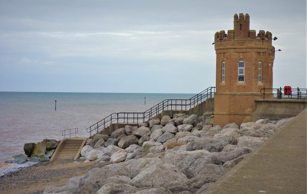 Coastal Road Trip, Withernsea, Castle, Promenade