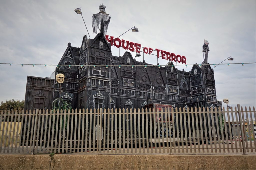 Coastal Road Trip, Mablethorpe, House of Terror, Haunted House, Beach, Amusements