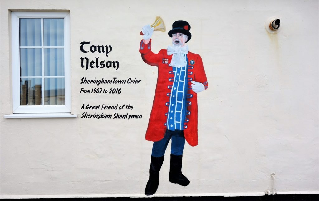 Coastal Road Trip, Sheringham, Street Art, Tony Nelson, Town Criar