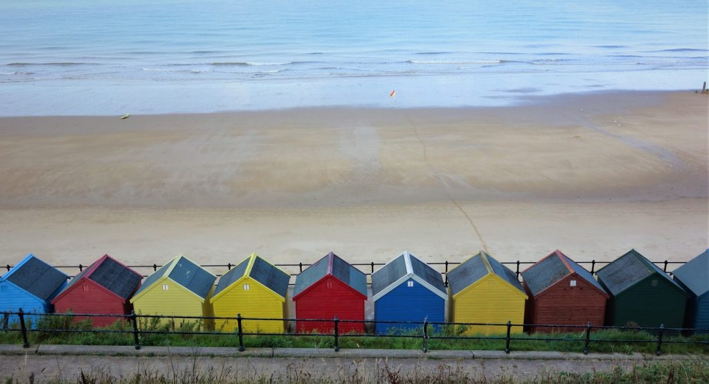 Coastal Road Trip, Mundesley, Beach Huts